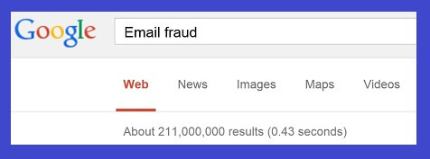 EMAIL FRAUD SMALL blue