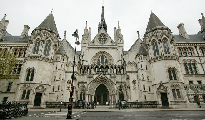 Royal Courts of Justice photo by Craig Holgate