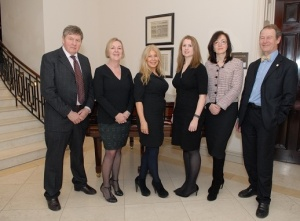 Bates Solicitors welcome Carole Scott (centre) to the Board of Directors