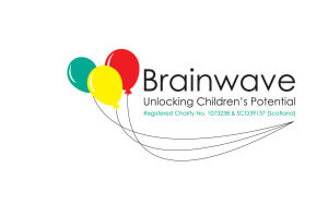 "Brainwave logo and strapline ""Unlocking Children's Potential"