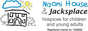 Naomi House logo horizontal with charity no