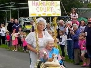 Lords and Ladies 2015 entrant Hartley Wintney Pram Race pre Soap Box Challenge 2016
