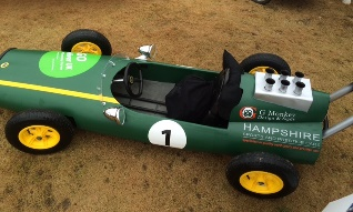 Racing Green Pram Race Entry