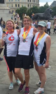 Briony Davies completes London Virgin 10 K
