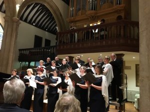 Lycranto Choir sponsored by Bates Solicitors